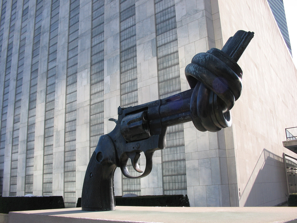 the arms trade treaty Still, canada refuses to join a growing global effort to curb the trade and flow of illicit arms the treaty requires states to establish control systems.