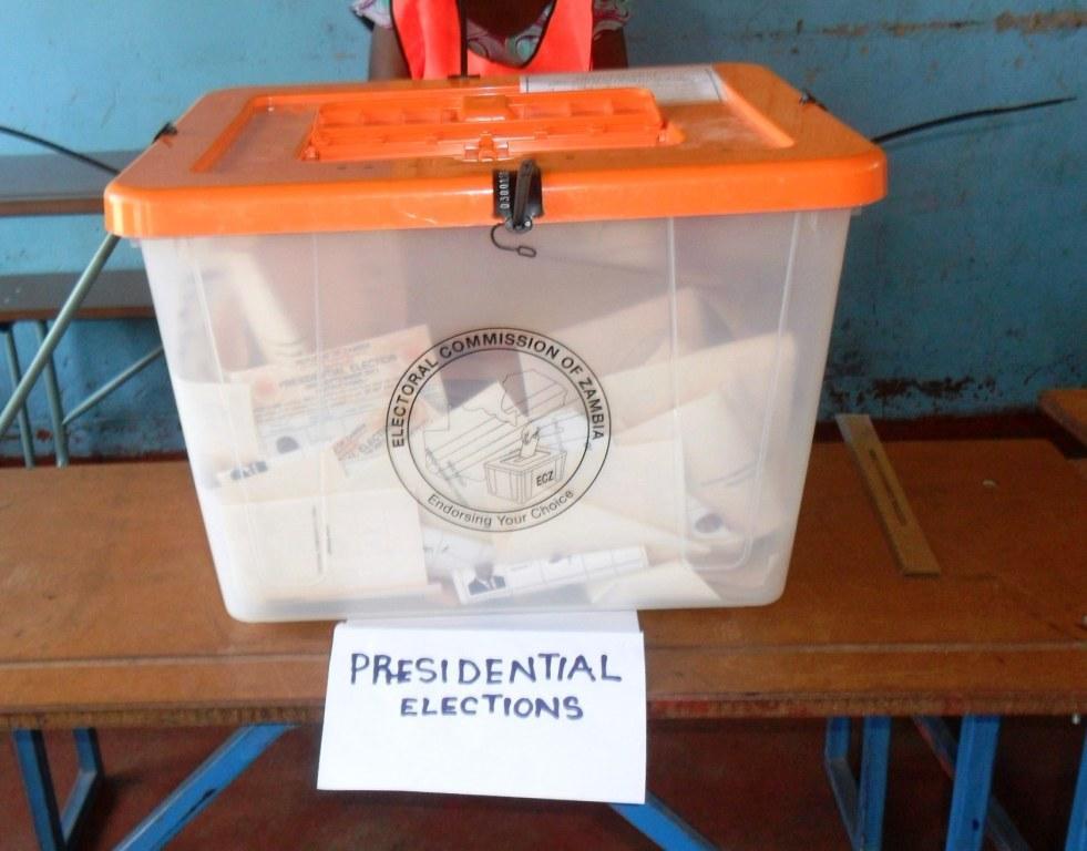 Bilde fra presidentvalget i Zambia i 2011 (Foto: Ebenzer Ajayi)