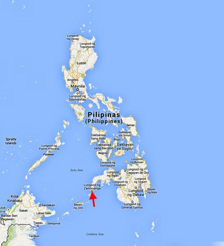 kart filippinene Gammel konflikt blusser opp på Filippinene – Caritas kart filippinene
