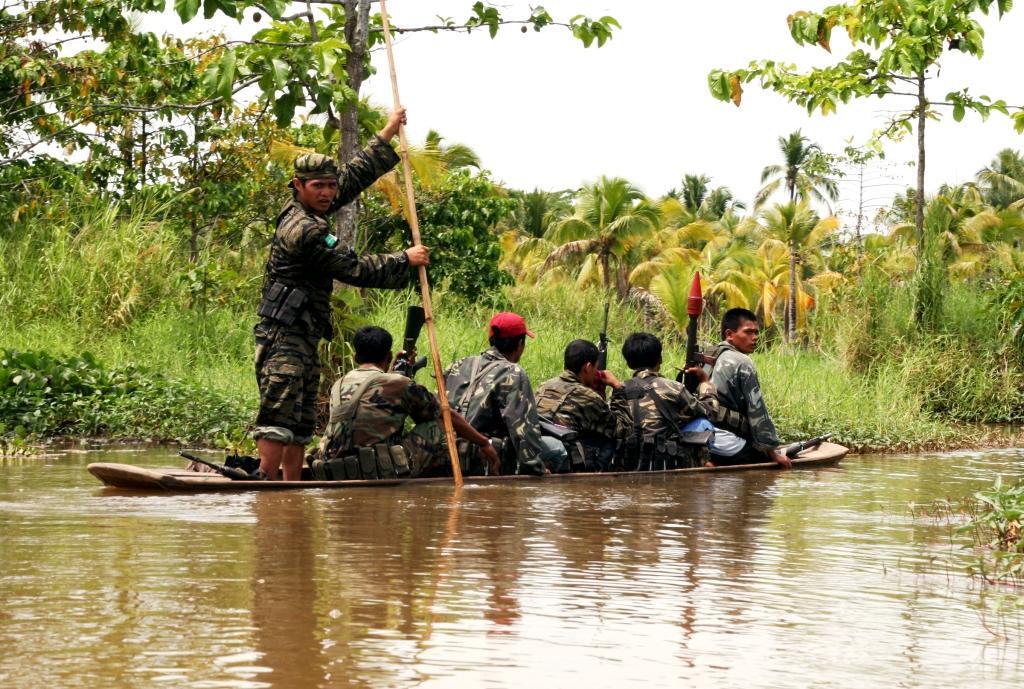 Geriljasoldater fra MILF (Foto: Keith Bacongco)